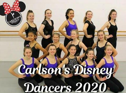 dance fundraising - Carlson's Disney 2020 Dancers