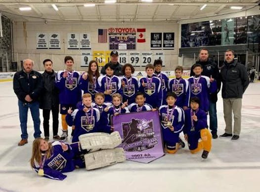 ice hockey fundraising - Jr Kings AAA