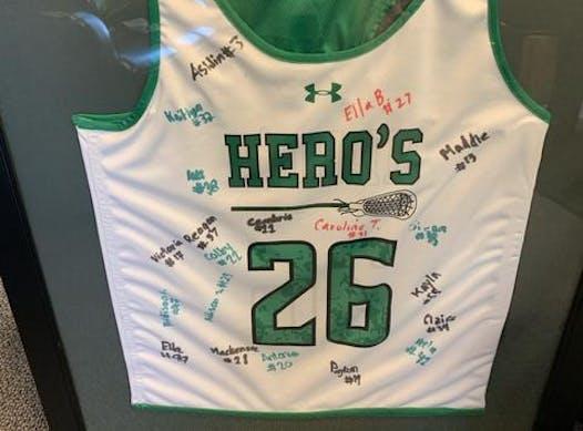 lacrosse fundraising - Hero's 2026 White
