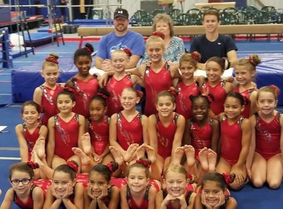 RB Girls Gymnastics- Level 4