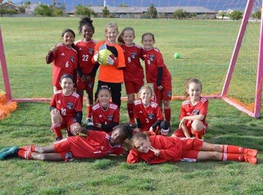 soccer fundraising - LVSA '11 Silver