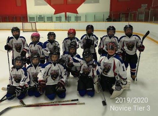 ice hockey fundraising - Atom Bears