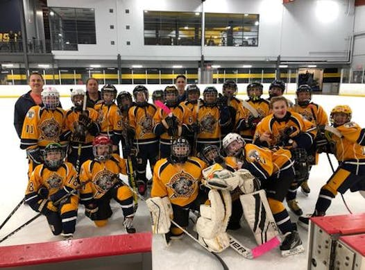 ice hockey fundraising - Predators PeeWee Scabilloni