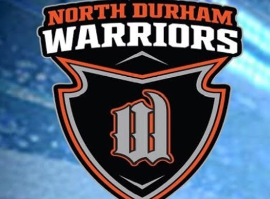ice hockey fundraising - North Durham Warriors Minor Peewee AE