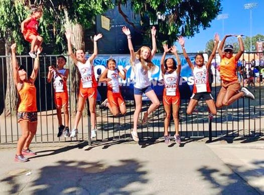 cross country fundraising - Fresno Flyers