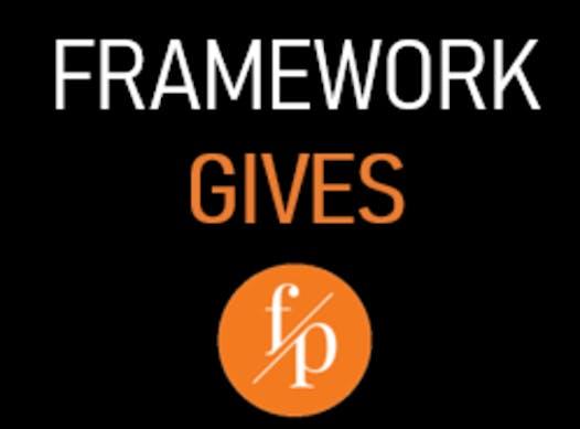 running fundraising - #FRAMEWORKGIVES