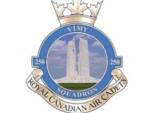 cadets fundraising - 250 Vimy Air Cadets