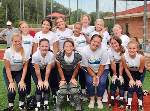 softball fundraising - Blue Angels 14u
