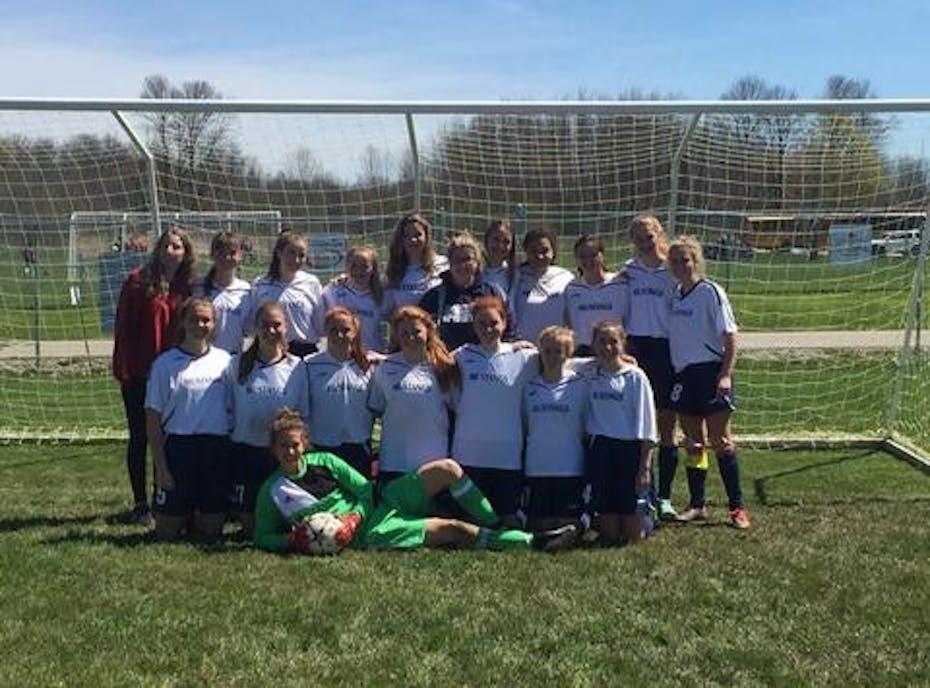 SMHS Girls' Varsity Soccer Team