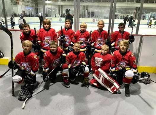 ice hockey fundraising - Southern MD Sabres 8U A team