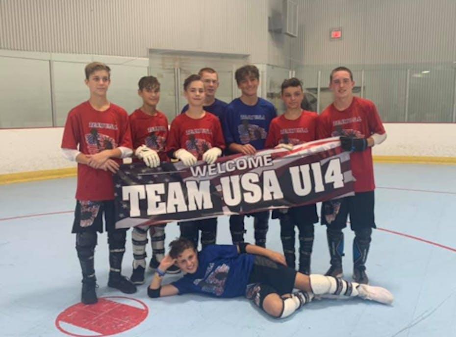 Team USA Ball Hockey U-14
