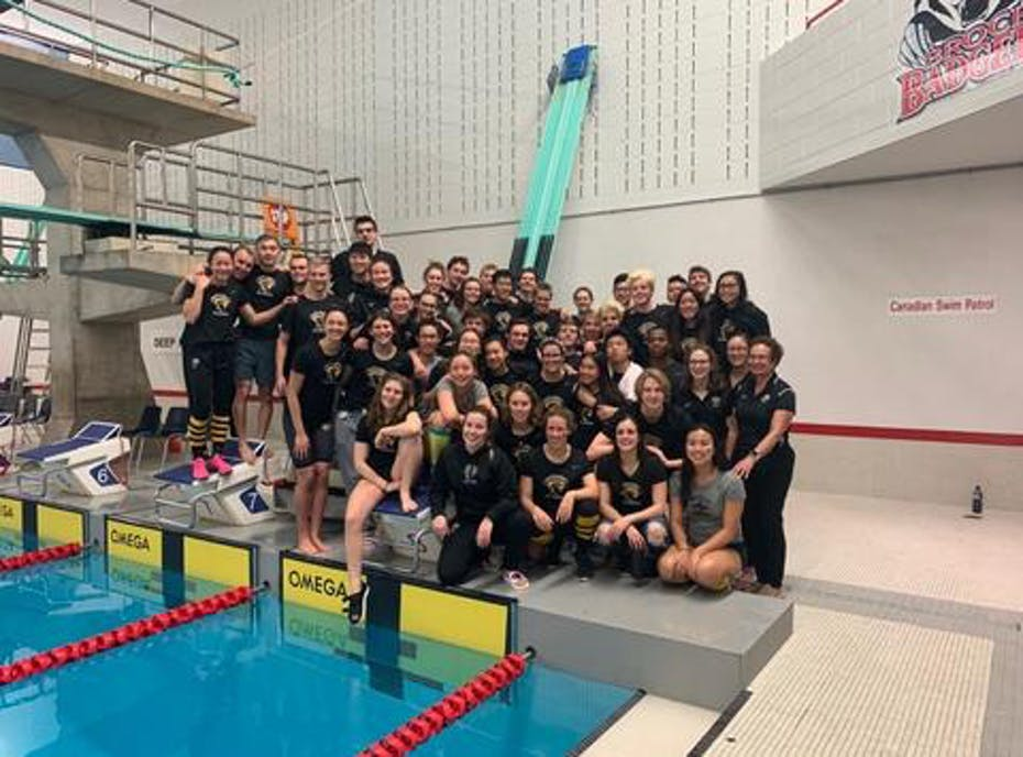 Warriors swimming 2019/2020