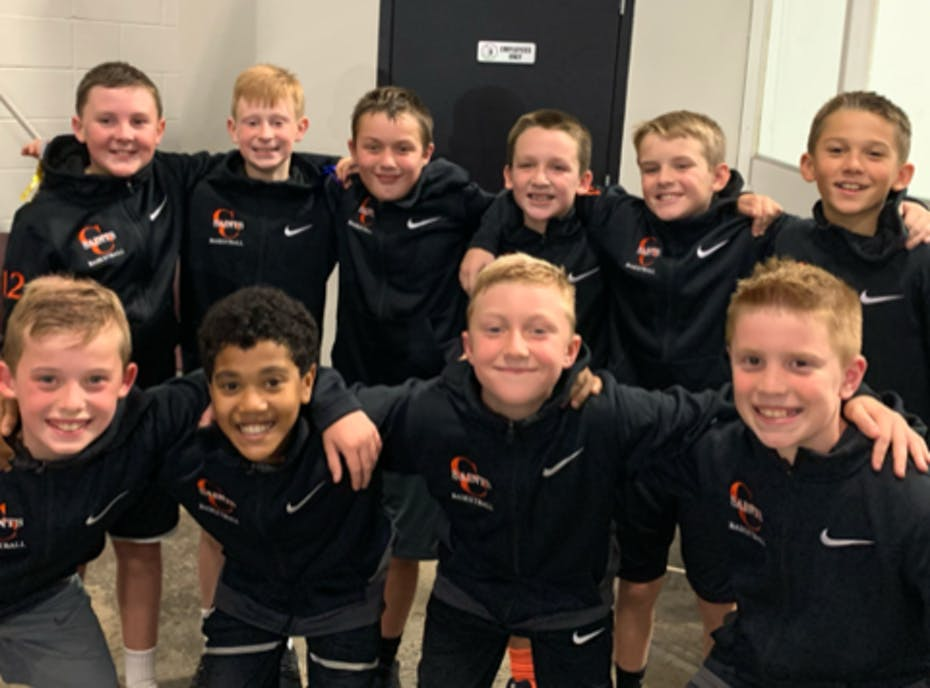 Churchville Chili Saints 6th Grade Boys Basketball Team