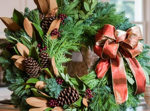 scouts fundraising - Black Forest Pack 70 Christmas Wreaths 2019