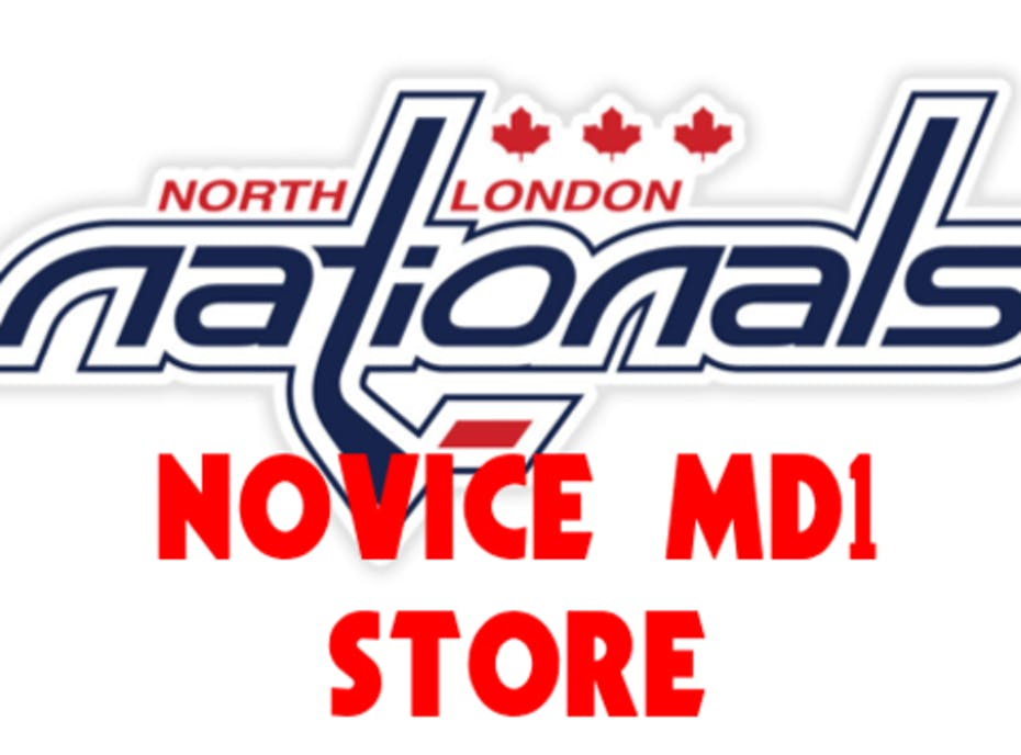 North London Nationals Novice MD1