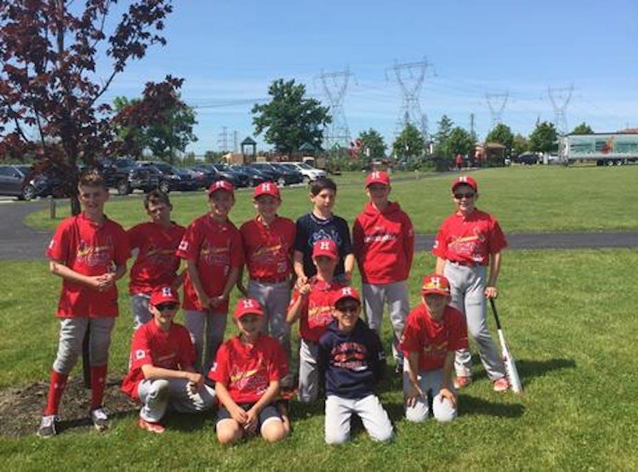 Hamilton Cardinals Minor Peewee AAA 12u