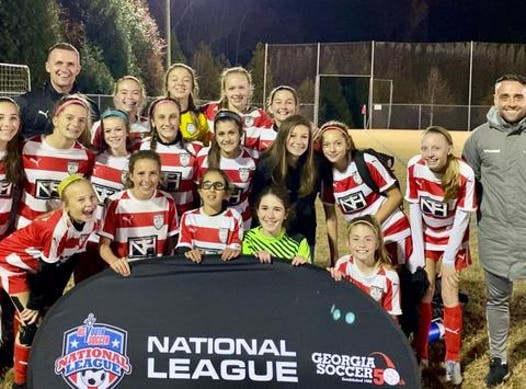 soccer fundraising - Impact 06 Girls Elite