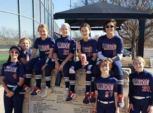softball fundraising - American Freedom Gadberry