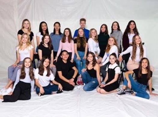 dance fundraising - Team Canada Natasha