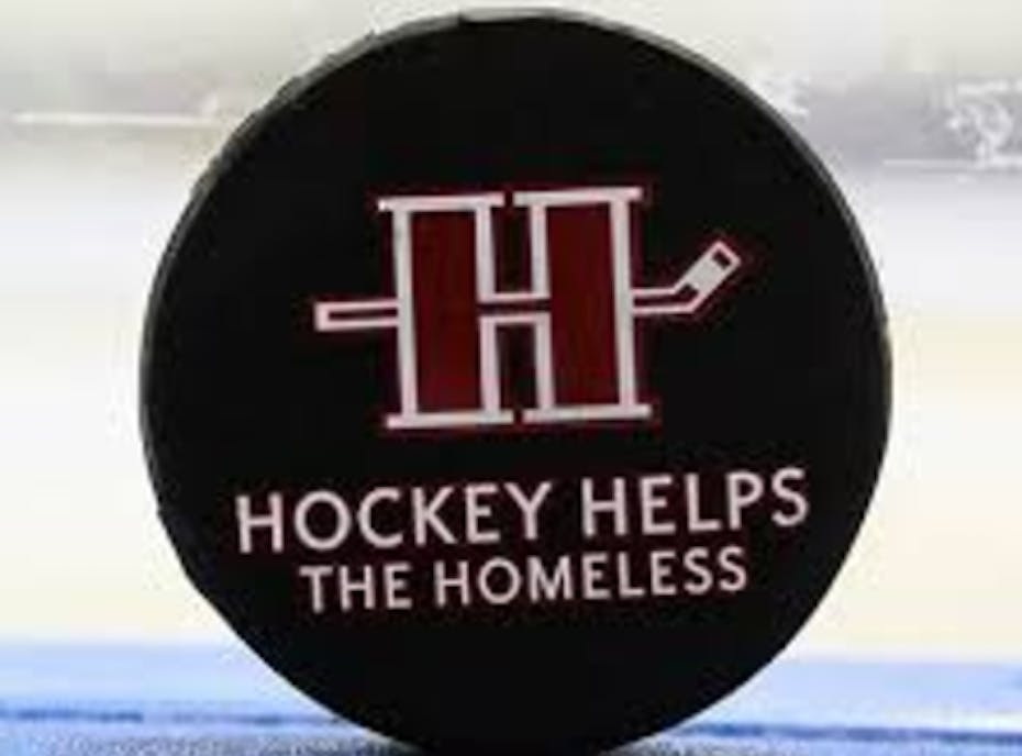 Universal Flames Hockey Helps The Homeless
