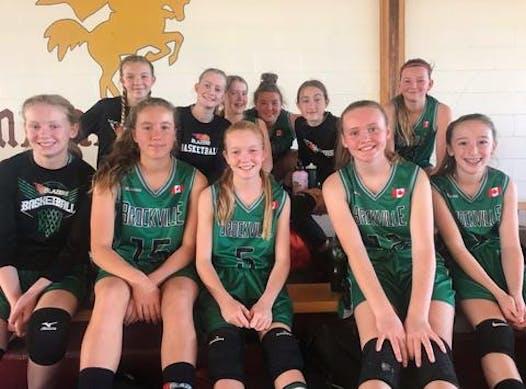basketball fundraising - Brockville Blazers Basketball U14G (Wright)