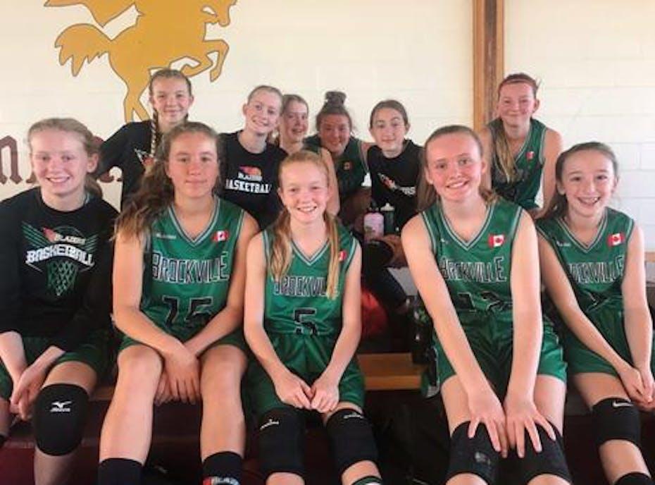 Brockville Blazers Basketball U14G (Wright)