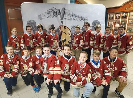 ice hockey fundraising - Peewee Titan
