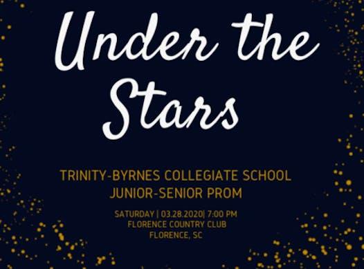 formals & proms fundraising - Trinity- Byrnes 2019-20 Prom