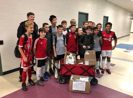 soccer fundraising - WaterlooUnited OPDL BU13