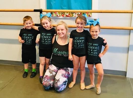 dance fundraising - Monarch Conservatory- Chloe's Minis