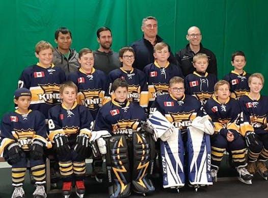 ice hockey fundraising - Carleton place Kings Atom B2