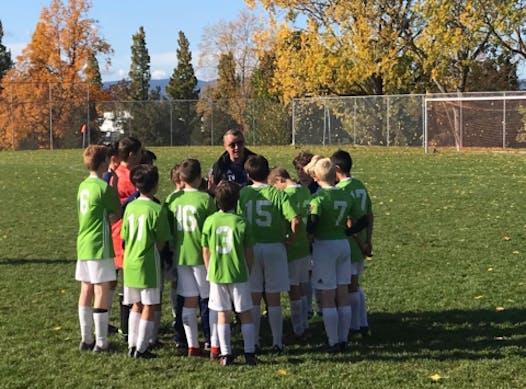 soccer fundraising - Fraser Valley 2007