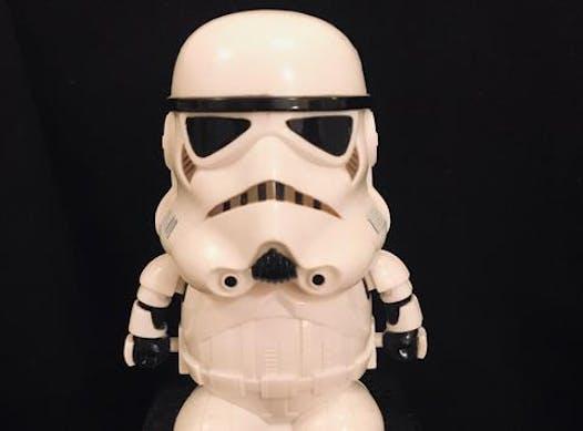 baseball fundraising - Stormtrooper
