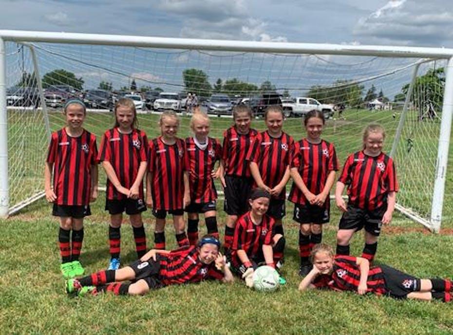 Cavan FC U10 girls
