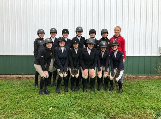 equestrian fundraising - University of Guelph IHSA