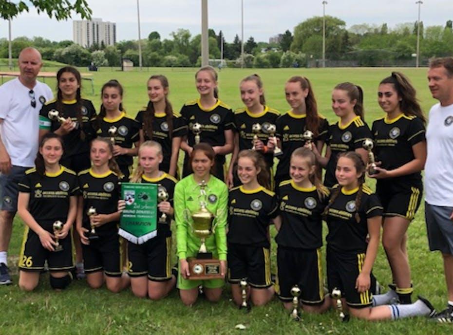 Mt Hamilton U16 Girls Soccer Team