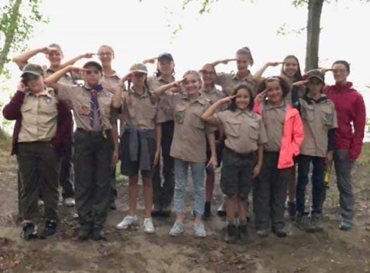 scouts fundraising - Troop 1920