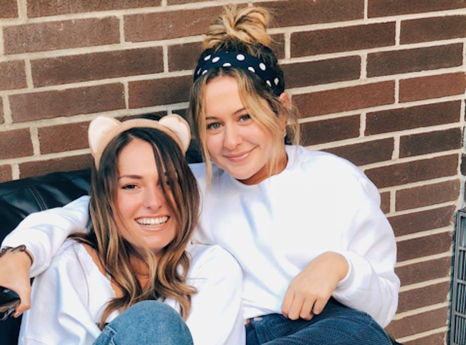 Alyssa and Leah X Benefitting THON