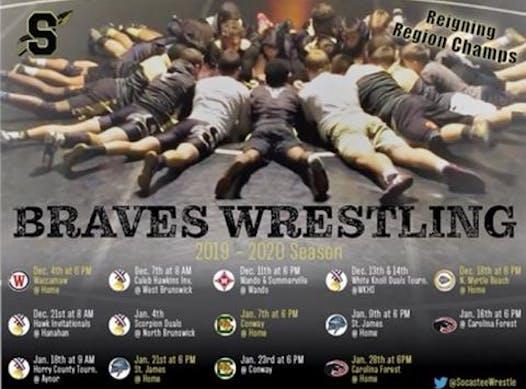 wrestling fundraising - Socastee Wrestling