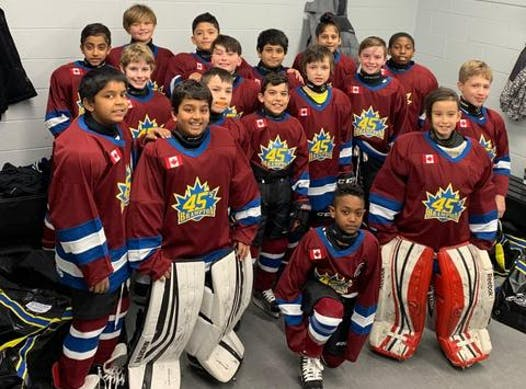 ice hockey fundraising - Brampton Atom Roster Select
