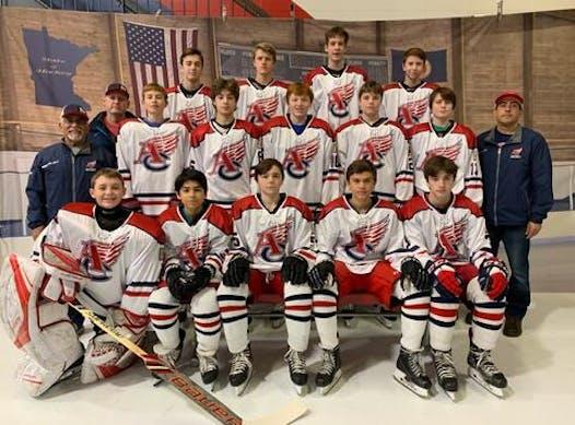 ice hockey fundraising - ACYHA Bantam B1