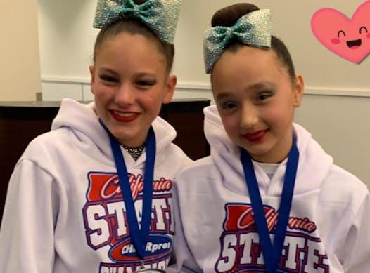 cheerleading fundraising - Team Maya and Callie '21