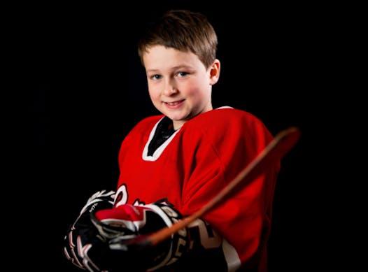 ice hockey fundraising - Team Nolan