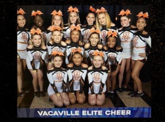 cheerleading fundraising - Vacaville Elite Cheer