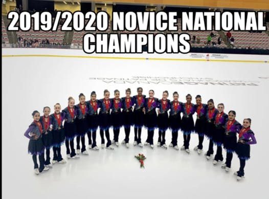figure skating fundraising - Gold Ice Synchronized Skating 2020/21