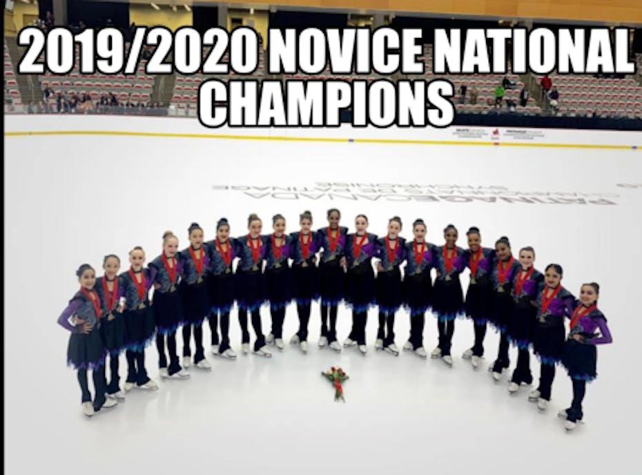 Gold Ice Synchronized Skating 2020/21