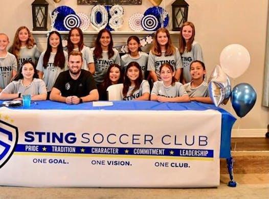 soccer fundraising - Sting 08g Hansen
