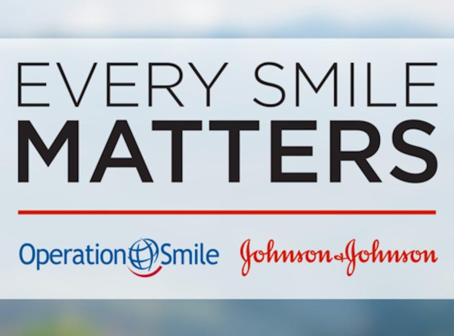 JJMDC Operation Smile 2020 campaign