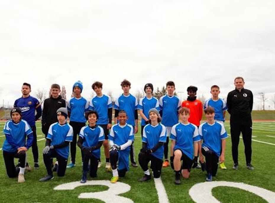 Alen's 2006 Boys Soccer Team