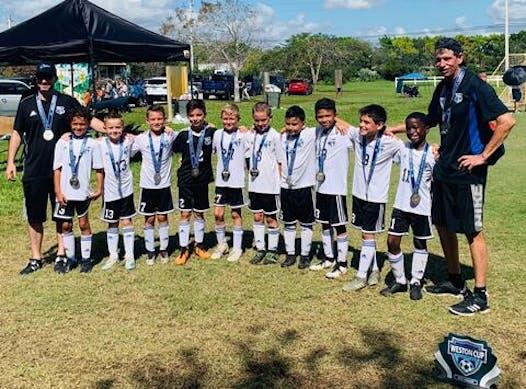 soccer fundraising - U10 Boys Black Cyclones